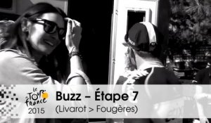 Buzz du jour / Buzz of the day - Cav is back - Étape 7 (Livarot > Fougères) - Tour de France 2015