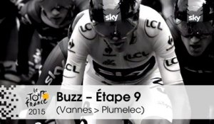 Buzz du jour / Buzz of the day - Étape 9 (Vannes > Plumelec) - Tour de France 2015
