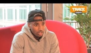Trey Songz talks about 50 Cent's 'Smoke'.