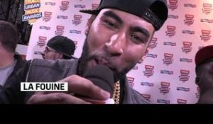 La Fouine rafle 3 TRACE Urban Music Awards 2013 !