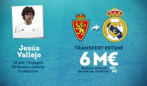 Officiel : le Real Madrid recrute l'espoir Jesus Vallejo