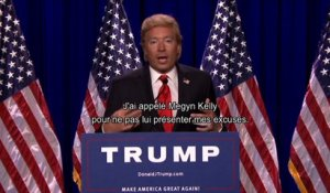 Donald Trump explique ses dérapages - Tonight Show starring Jimmy Fallon du 10/08, sur MCM !