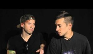 Twenty One Pilots interview at Lowlands with Tyler & Josh