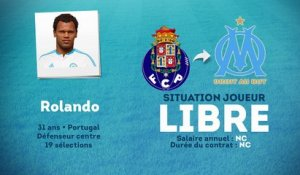 Officiel : Rolando file libre à l'OM !