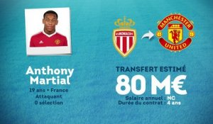 Officiel : Anthony Martial file à Manchester United !