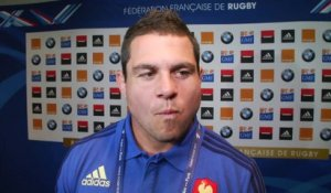 Rugby - XV de France : Guirado «On a du mental»