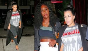 Kim Kardashian et Serena Williams vont dîner ensemble