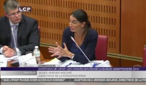 TRAVAUX ASSEMBLEE 14E LEGISLATURE : Audition d'Agnès Verdier-Molinié par la commission d'enquête sur les conséquences de la baisse des dotations de l'État aux collectivités et aux EPCI