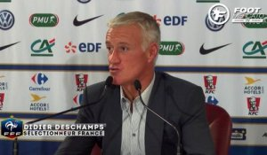 Deschamps suit Coman