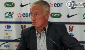 Deschamps justifie l'absence de Payet