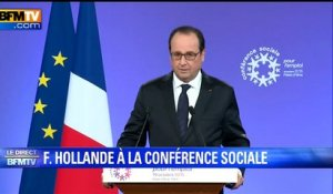 "Hollande: l'alternative c'est ""la rénovation du modèle social ou sa disparition"""