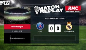 PSG-Real Madrid (0-0) : le Goal-Replay avec le son RMC Sport