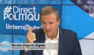 Direct Politique_Nicolas Dupont-Aignan