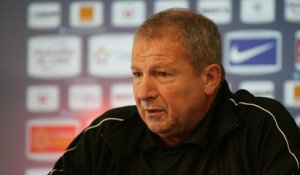 Rolland Courbis avant MHSC vs FCN