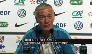 Foot - Bleus : Deschamps «J'assume mes décisions»