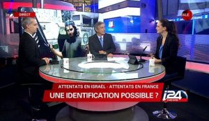 Identification possible entre les attentats en Israel et les attentats en France ?