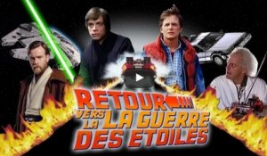 Mashup : Retour vers le Futur VS Star Wars !