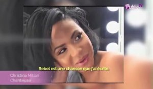 "Exclu video : Christina Milian : Beauté rayonnante pour la promo de son single ""Rebel"""