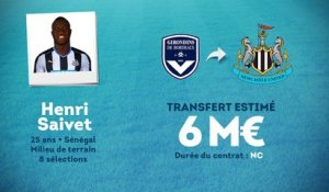 Officiel : Henri Saivet file à Newcastle !