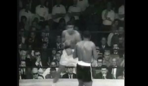 Slow Motion du Phantom Punch de Mohammed Ali