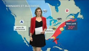 Tornades, blizzard, incendies et inondations aux USA
