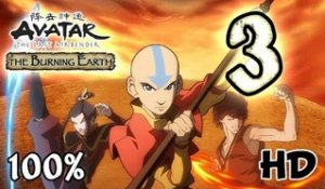 Avatar The Last Airbender: Burning Earth Walkthrough Part 3 | 100% (X360, Wii, PS2) HD
