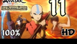Avatar The Last Airbender: Burning Earth Walkthrough Part 11 | 100% (X360, Wii, PS2) HD