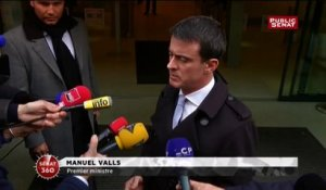 Taxis : Valls condamne des violences « inadmissibles »