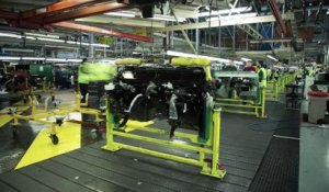 Production du dernier Land Rover Defender