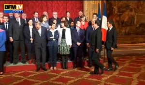Quand Vallaud-Belkacem veut prendre la place de Hollande sur la photo de famille
