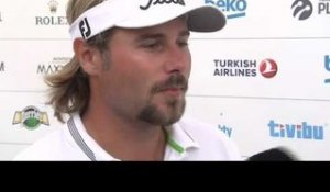Turkish Airlines Open (T3) : La réaction de Victor Dubuisson