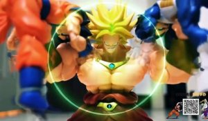 Dragon Ball Stop Motion : Broly vs Sangoku & Vegeta