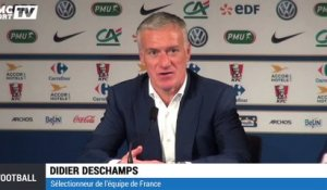 "Deschamps : ""On ne va pas s'enflammer"""