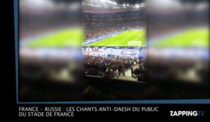 France - Russie : Les chants anti-Daesh du public du Stade de France (vidéo)