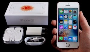 Apple iPhone SE : Déballage et prise en main (Unboxing)