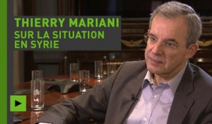 Thierry Mariani sur la situation en Syrie