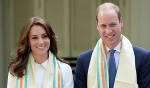 Le Prince William et Kate Middleton sont en visite en Inde