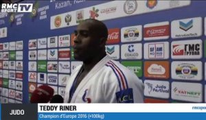 Judo : Riner champion d'Europe des +100kg