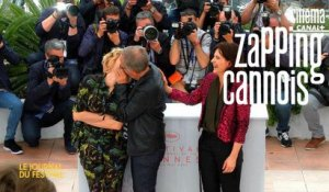 Zapping cannois avec Juliette Binoche, Fabrice Lucchini, Gaspard Ulliel - 13/05 Cannes 2016 CANAL+