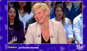 Fou rire en direct dans le Grand Journal !