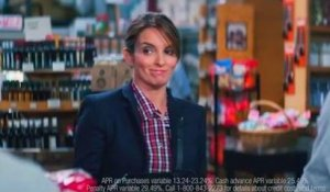 Tightfisted Tina Fey loves cash back on purchases