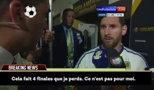 Lionel Messi annonce sa retraite internationale !