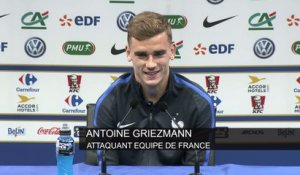 Foot - Euro - Bleus : Griezmann «Eliaquim ou Sam, on sera serein»