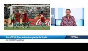 Football: EURO 2016, poursuite des quarts de finale...
