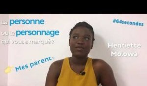 #64secondes avec Henriette Molowa, lauréate de la bourse Excellence-Major (AEFE)