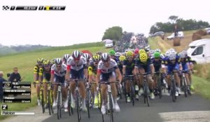 46 KM à parcourir / to go - Étape 10 / Stage 10 (Escaldes-Engordany / Revel) - Tour de France 2016