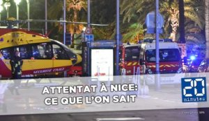 Attentat de Nice: Ce que l'on sait