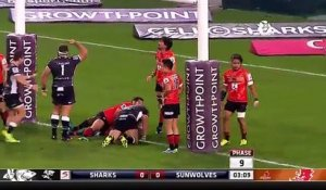 Super Rugby - les Sharks battent les Sunwolves