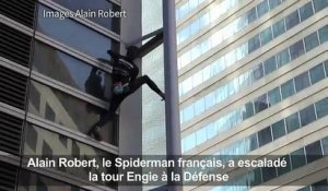 Le Spiderman français conquiert la tour Engie