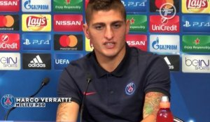 Verratti impatient de jouer contre Arsenal